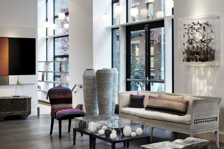An art-filled luxury hideaway...  Crosby Street Hotel in New York