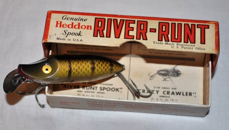 17 best images about heddon fishing lures on pinterest for Best lures for river fishing