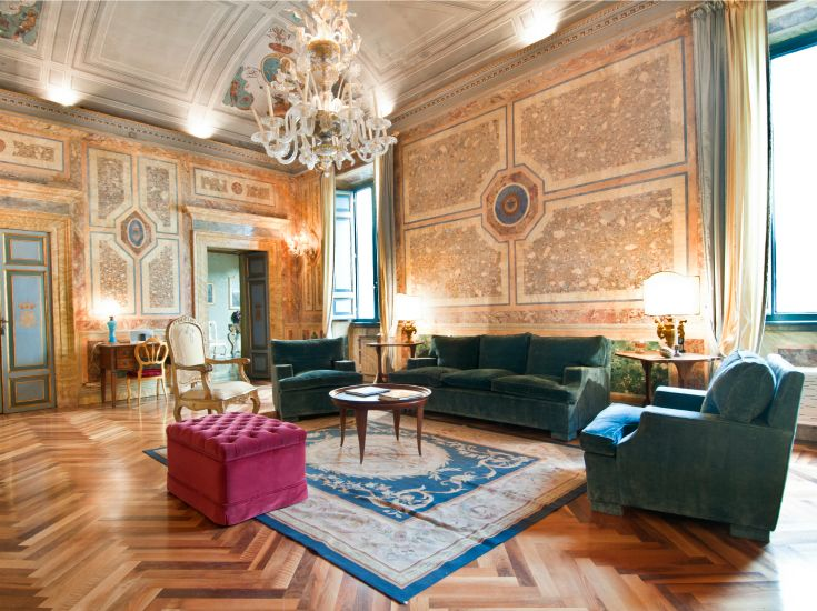 Residenza Ruspoli Bonaparte, luxury accomodation in the center of Rome, 3 suites