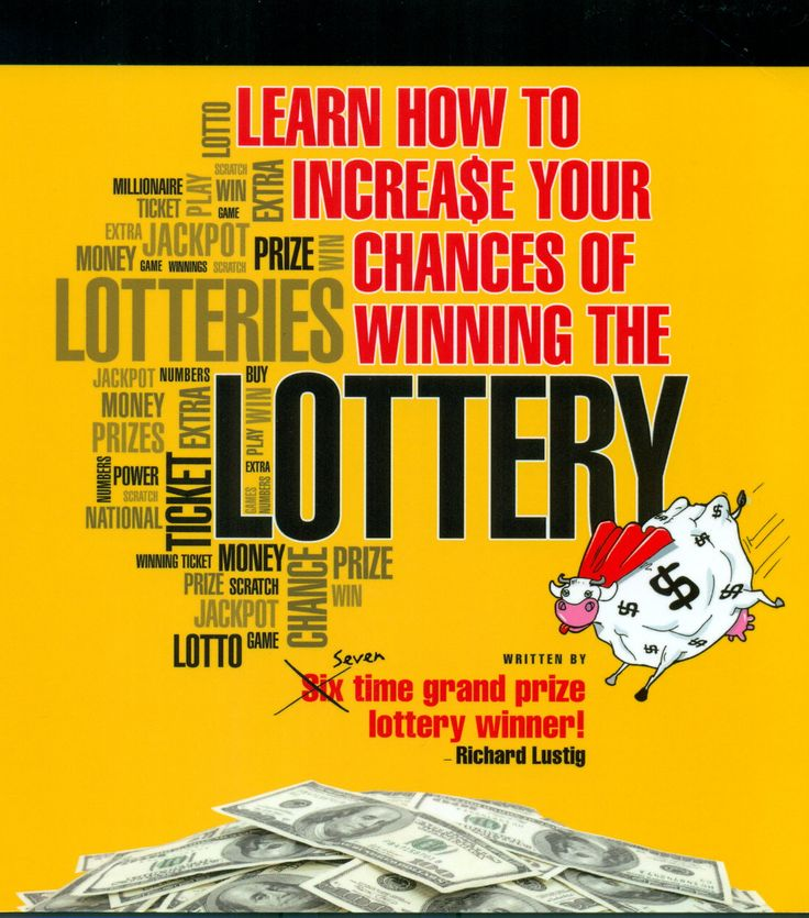 "Our first ""product placement"" - a book written by 7x lotto winner Richard Lustig, who will make a cameo in MegaBall$"