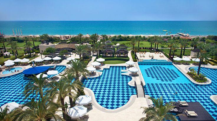 Kempinski Hotel The Dome Thalasso & Golf Resort in Belek | Splendia - http://pinterest.com/splendia/