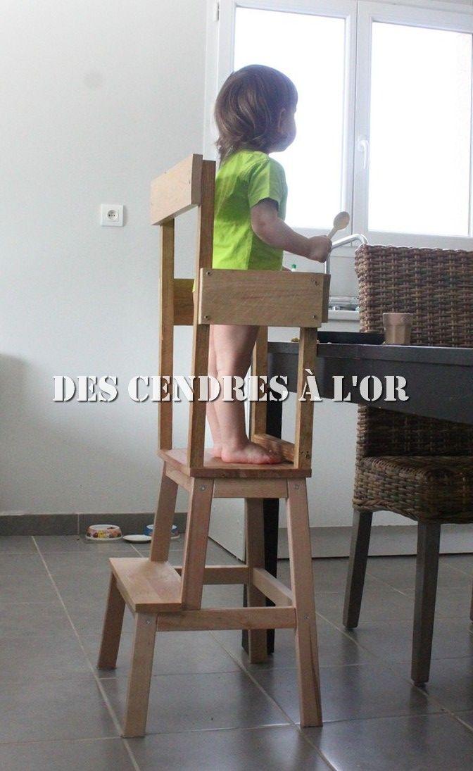 Diy La Tour D Observation Maison Fait Maison Et Chaise
