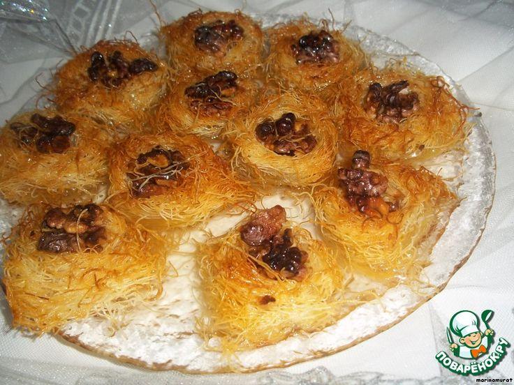 """Арабские сладости """"Птичье гнездо """"Ощ аль асфур"""""""" ингредиенты"""