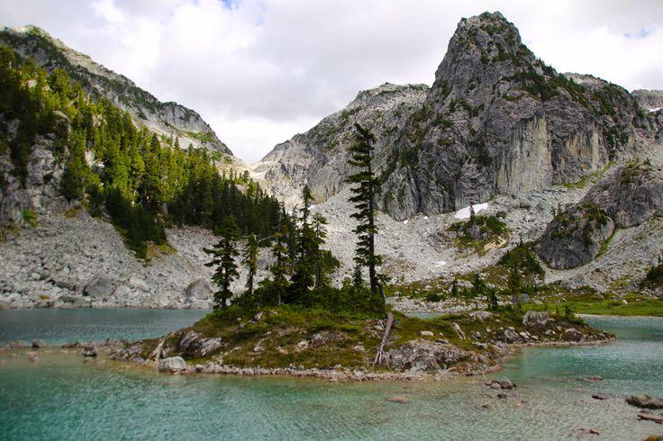 WaterSprite Lake: Howe Sound- Intermediate, 7hrs, 17km, 660m elv.