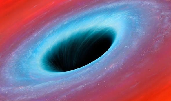 A SUPERMASSIVE black hole gradually consuming our galaxy is growing at a more rapid rate than previously thought possible, new research has shown.