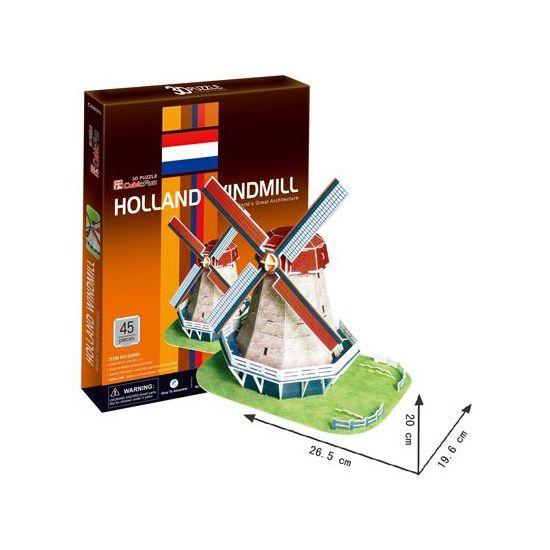 3D puzzels Hollandse molen