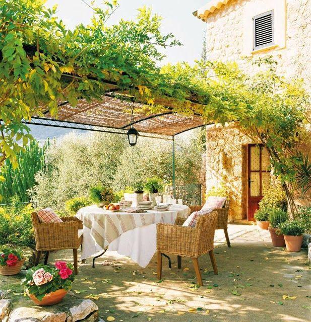 Um jardim para cuidar: PÉRGOLAS
