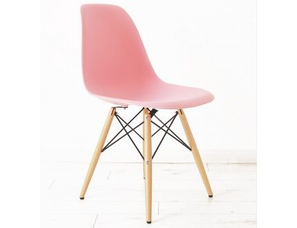 24 best images about la dsw dans tous ses tats on for Chaise eames rose pale
