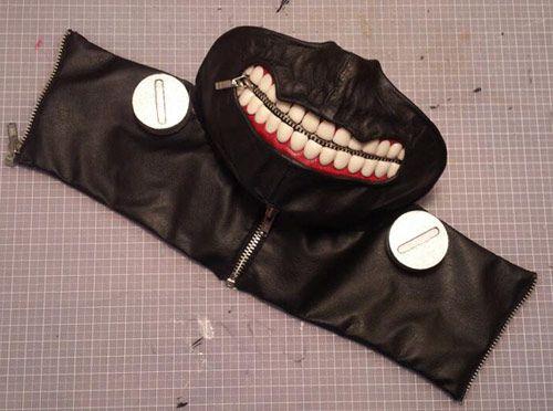 『東京喰種トーキョーグール』ファン制作のカネキマスクが悪夢の様だと海外で話題に http://japa.la/?p=41614  #東京喰種トーキョーグール #TokyoGhoul #カネキマスク #コスプレ