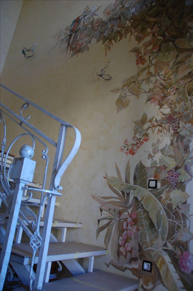 Альфрейная роспись стен и потолков