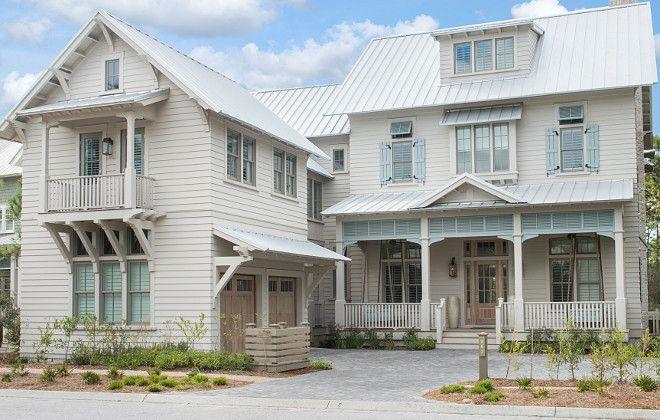 Exterior paint trim and main body paint colors benjamin - Beach house color schemes exterior ...
