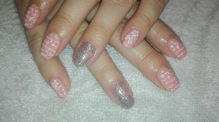 Bio Sculpture - Fullers earth with glitter (Duchess) accent