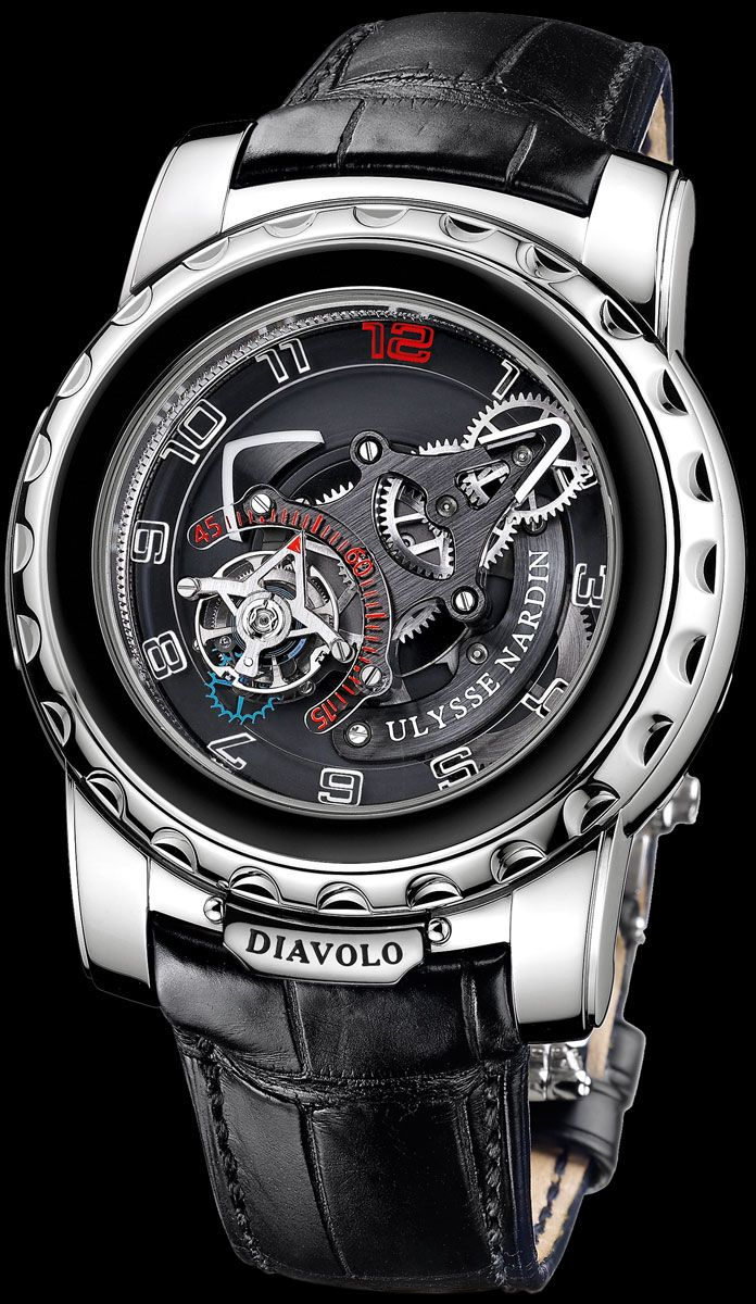 Ulysse Nardin Freak Diavolo -- Can by yours for only $120,000 or so! #Watch