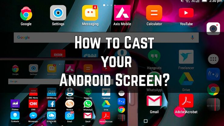 Do you like to see the screen of your Android device in your smart TV screen? Here is how to cast your Android device screen on smart TV. #Hacks