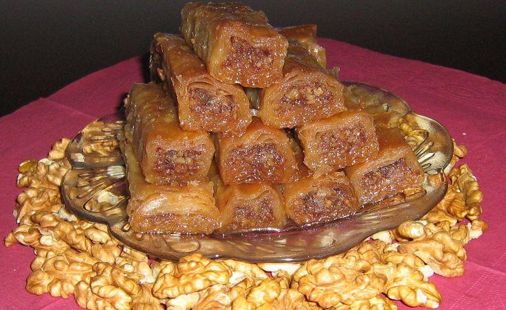 Baklava sa orasima i cokoladom » Peci reci