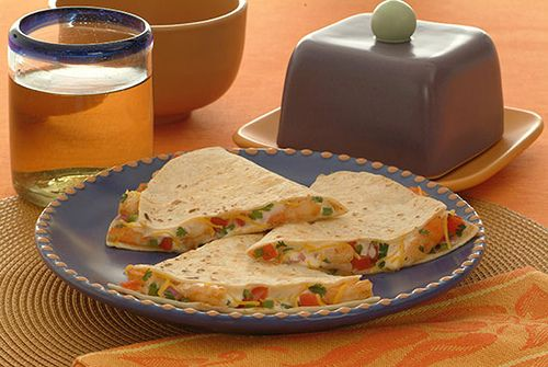 Shrimp Quesadilla - Kidney-Friendly Recipes - DaVita
