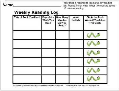 17 best Reading Logs images on Pinterest Guided reading, School - reading log template