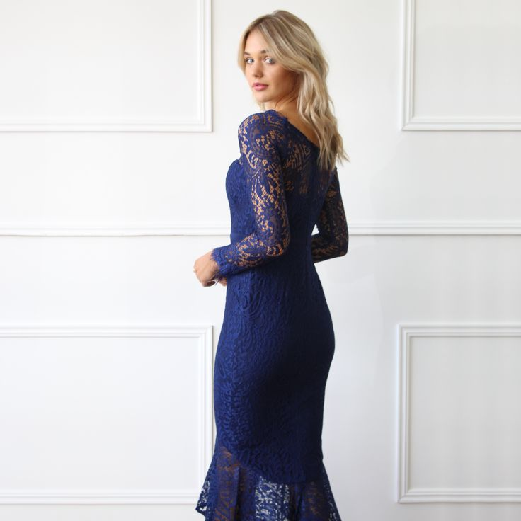 L'Amour - Ana Gown in Royal Blue // Available to hire in sizes 6-18 for $59