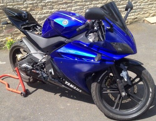 Yamaha YZF R125 | It's Been NICKED ™  This bike was stolen from Halesowen.  Have you seen it?