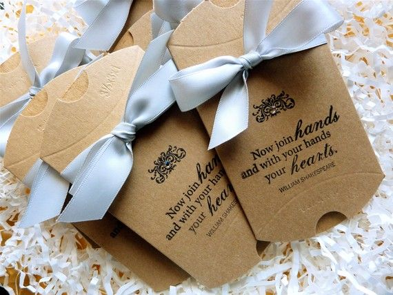 Vintage Style Wedding Shower Pillow Favor Boxes For Tiny Treasures With Swarovski Crystal Choice Of Ribbon Set Of 10 on Etsy, $30.00