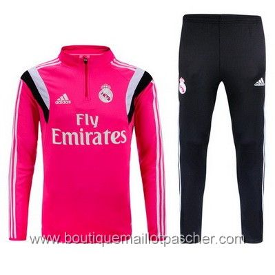 Veste real madrid noir rose