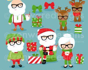 Imágenes Prediseñadas de Navidad tropical por ZenwareDesigns