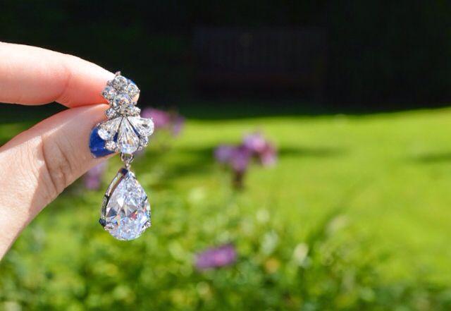 Glitzy Secrets earrings