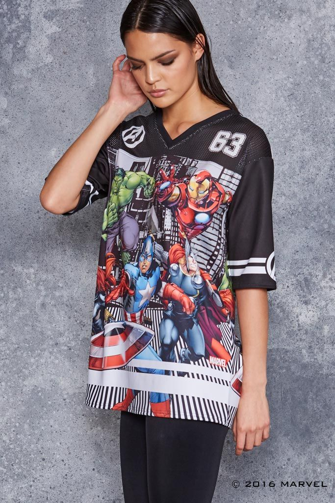 Team Avengers Touchdown ($120AUD) by BlackMilk Clothing