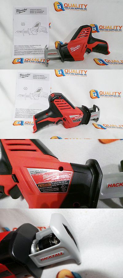 tools: New Milwaukee 2420-20 M12 12V Cordless Li-Ion Reciprocating Saw Hackzall -> BUY IT NOW ONLY: $68.99 on eBay!