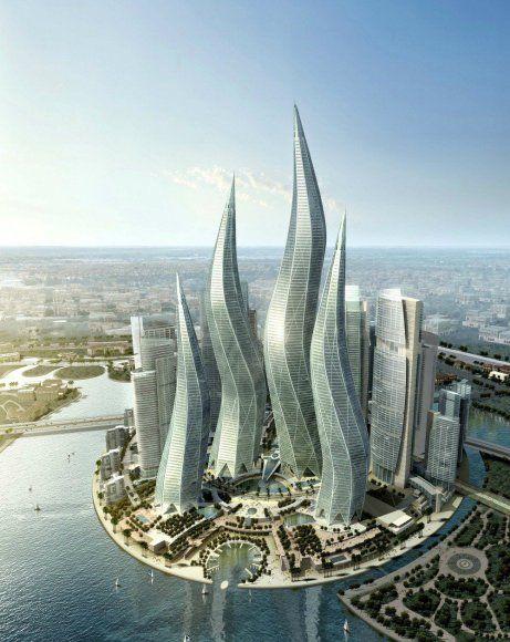 Θαλάσσια σπορ και τεράστιες πισίνες θα μετατρέψουν τους κυματιστούς ουρανοξύστες απόλυτο καλοκαιρινό προορισμό.