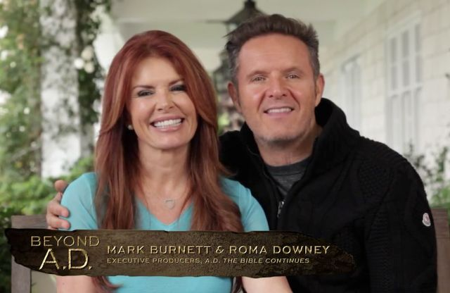 Roma Downey, Mark Burnett Share Father's Day Greeting, Offer Exclusive Sneak Peek at 'A.D. – The Bible Continues' Season Finale