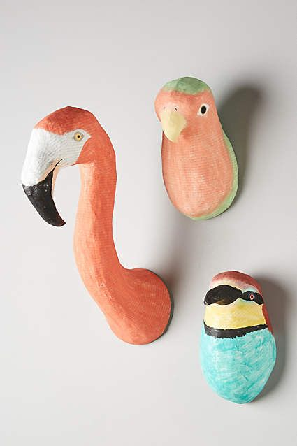 Tropical Bird Bust - anthropologie.eu