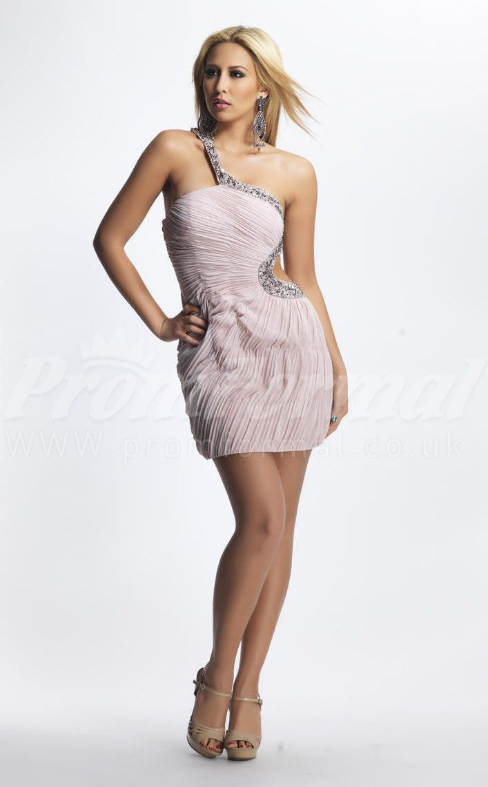 Ivory short prom dresses