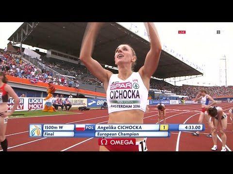 European Athletics Champs Amsterdam 2016 FINAL 1500 m WOMEN [FULL HD]