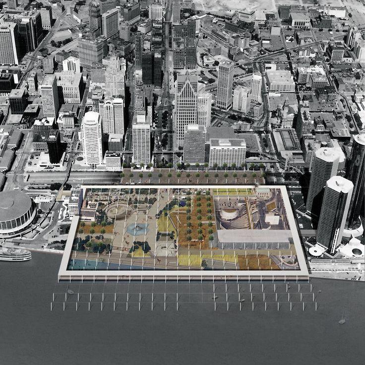 OMMX, Detroit Riverfront 'A Marked City'