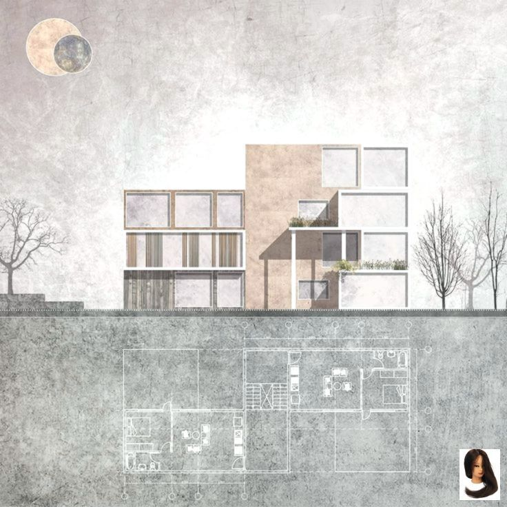 Loading Section Drawing Architecture Landscape Architecture Drawing Layout Architecture
