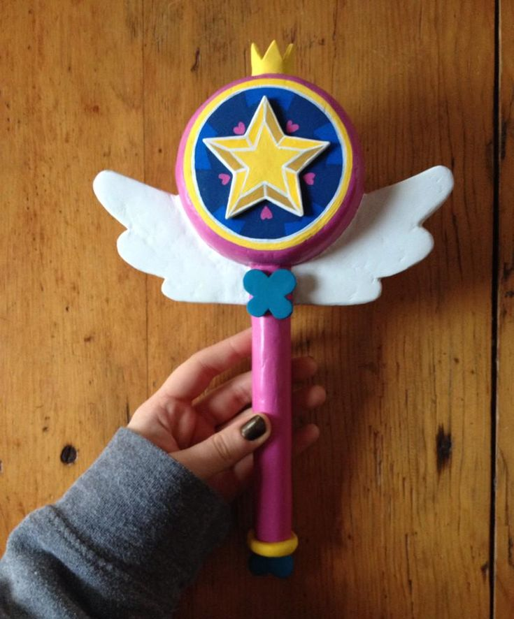 It took me a while but I made the wand from Star Vs.The Forces of Evil! Thank you @DaronNefcy for this awesomeness!
