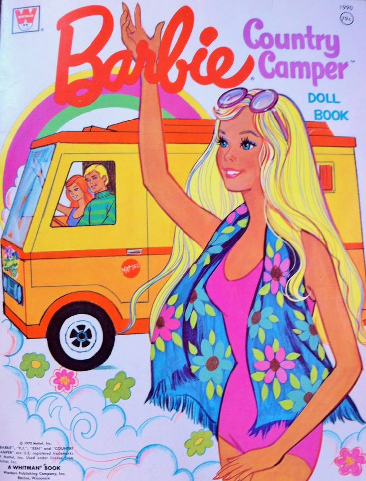 1973 BARBIE COUNTRY CAMPER COVER ART