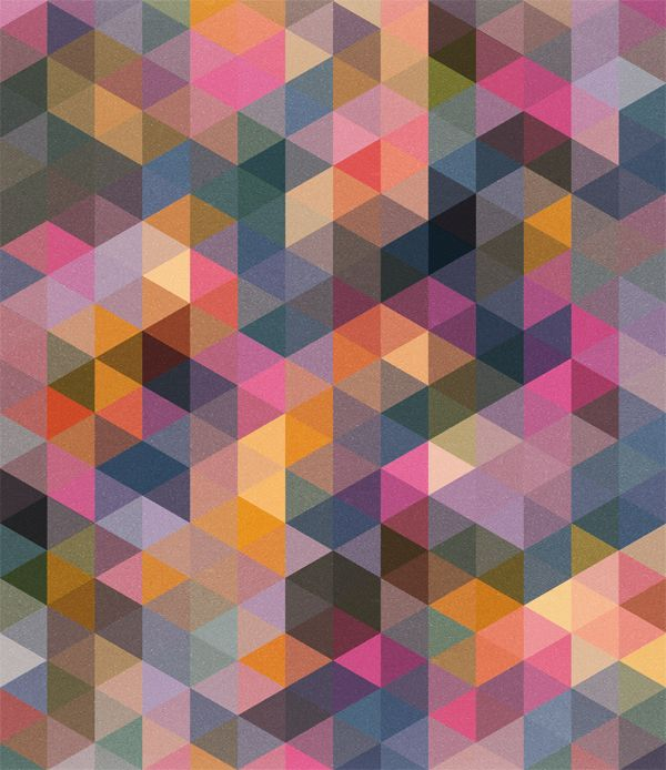 Triangles pattern by Mark Catley / Trash Design