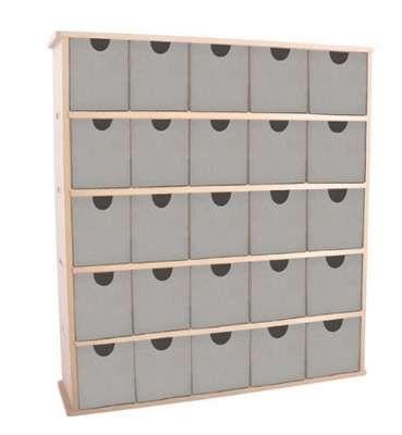 Papírtárolók tárolódobozok : Rekeszes tároló