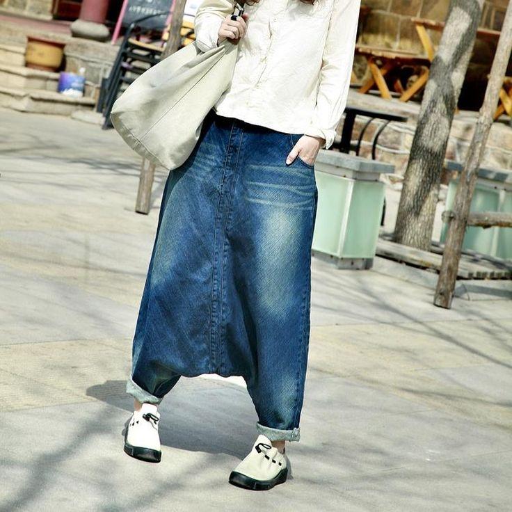 Купить товар2017 Новый Женщины hip hop уличная Мешковатые джинсы Бойфренд Американский брюки Широкую Ногу Мешковатые Джинсовые Шаровары в категории Джинсына AliExpress. 2017 Новый Женщины hip hop уличная Мешковатые джинсы Бойфренд Американский брюки Широкую Ногу Мешковатые Джинсовые Шаровары