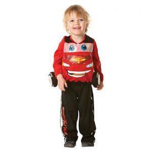 Child: Deluxe Cars 2 Lightning McQueen Costume