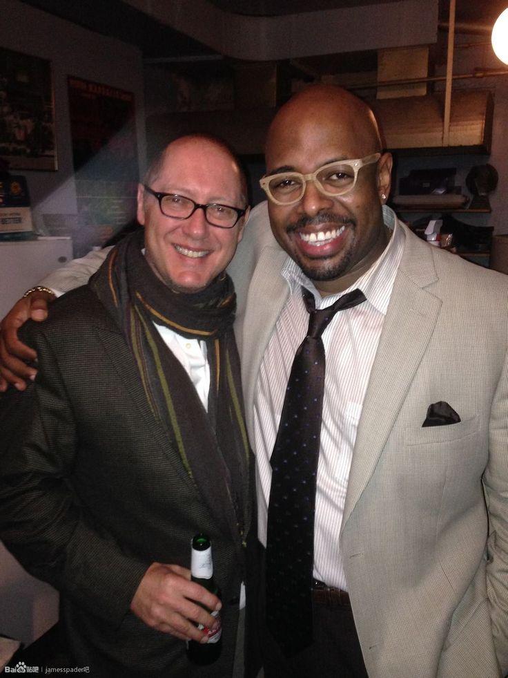 "my-spader-man: ""hughjs: ""James Spader and Christian McBride, in Village Vanguard jazz club, NYC. January 18, 2014 "" beautiful James"