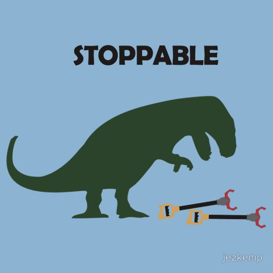 Poor T-Rex! - This made me laugh way more than it should. omg