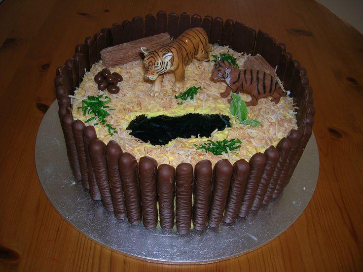 Tiger Cake Grrr!
