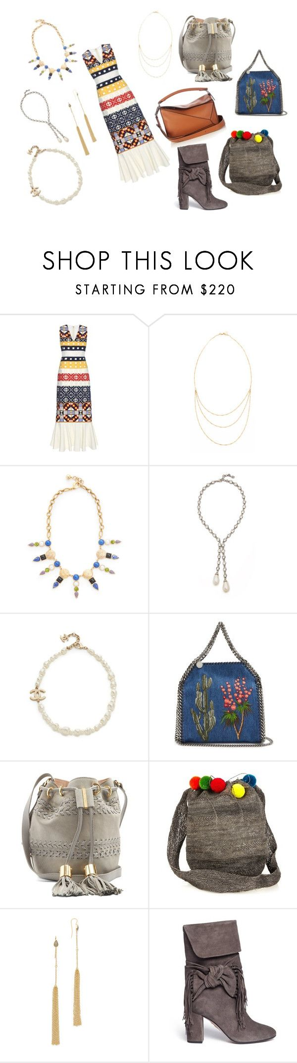"""""""Be anything but predictable"""" by racheal-taylor ❤ liked on Polyvore featuring Teatum Jones, Phyllis + Rosie, Lulu Frost, Ben-Amun, STELLA McCARTNEY, See by Chloé, Muzungu Sisters, Jacquie Aiche, Aquazzura and Loewe"""