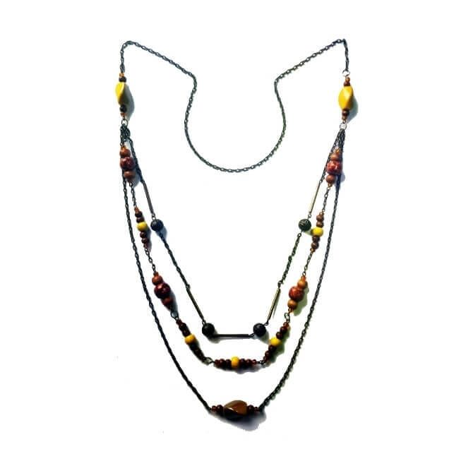 Villain Fashion   Because being awesome makes you a villain!: The Citrine Whisper Necklace
