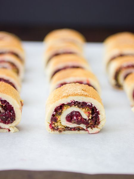 Gluten-Free Rugelach with Cranberry Port Jam, Chocolate, and Walnuts ...
