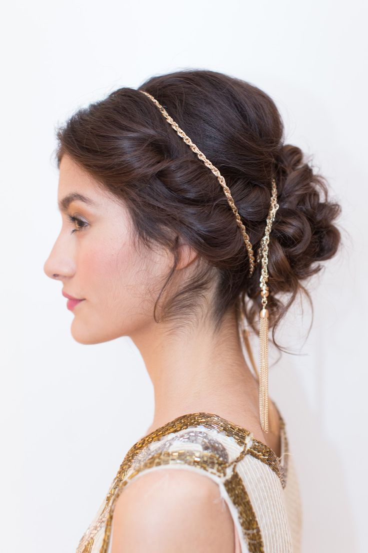 Hair accessories for updos hairstyles - Diy New Years Eve Updo