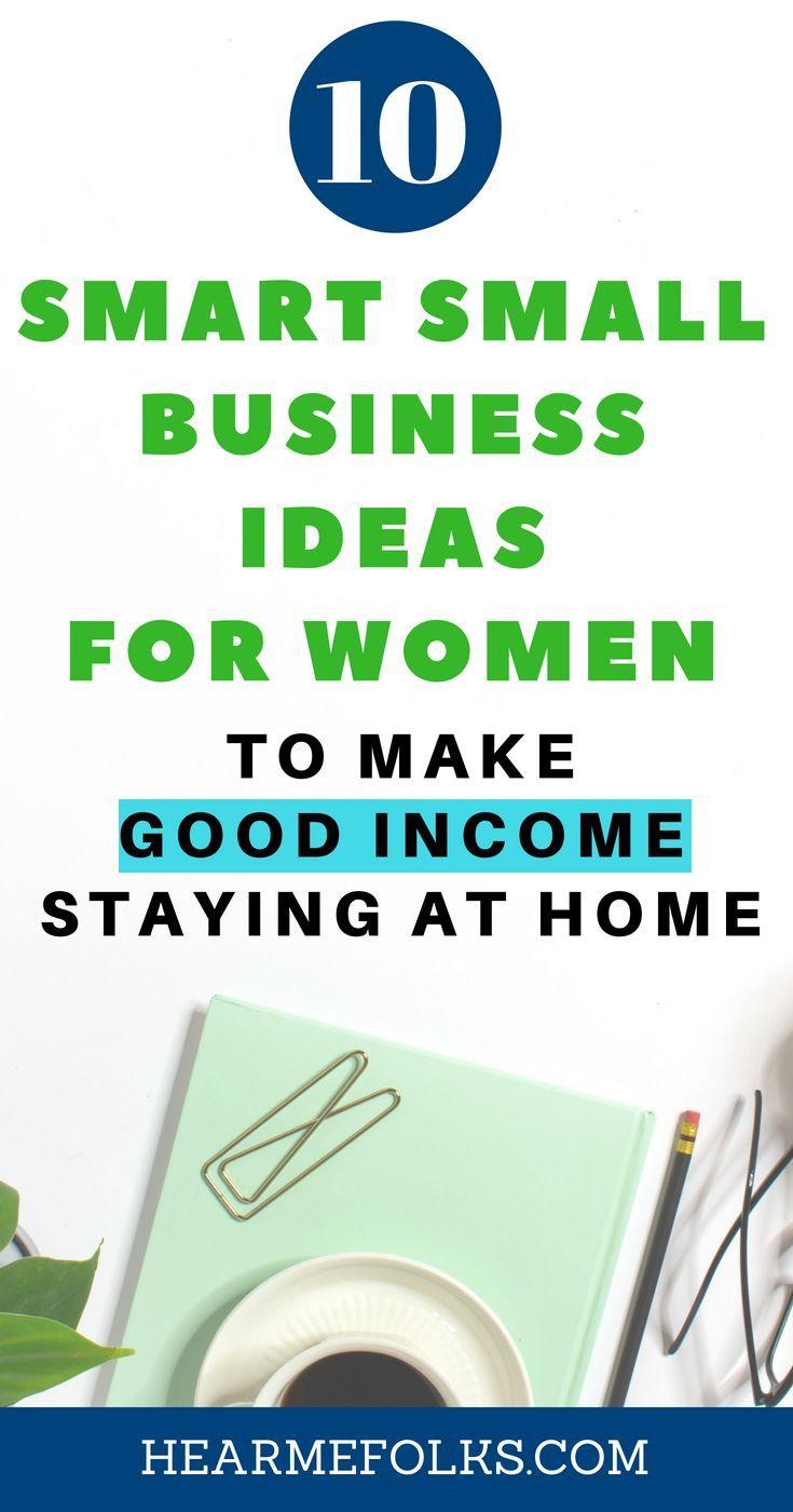 10 Best Paying Small Business Ideas For Women 2020 Hearmefolks